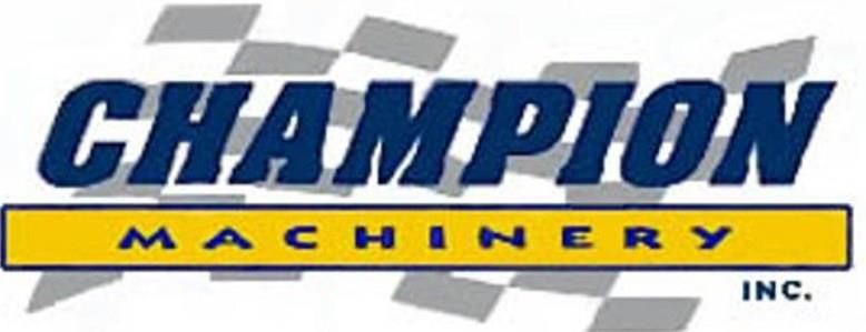 Champion Machinery, Inc.